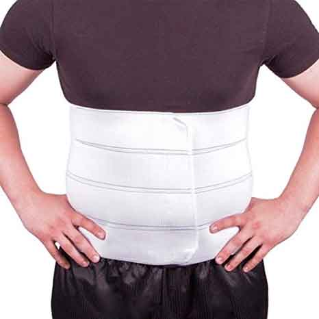 "BraceAbility Plus Size Bariatric Abdominal Binder - Se adapta a la circunferencia de hasta 45 """