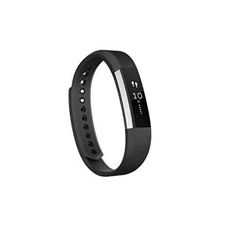 Fitbit Alta Fitness Tracker, Plata / Negro, Pequeño