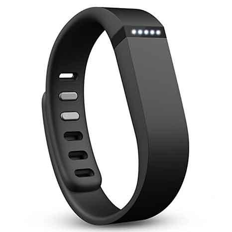 Fitbit Flexible Inalámbrico Actividad + pulsera cómoda para dormir, negro