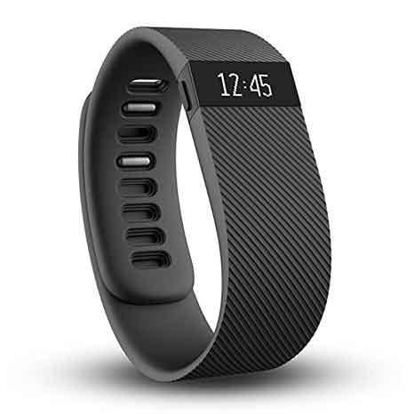 Pulsera de actividad inalámbrica Fitbit, negro, grande